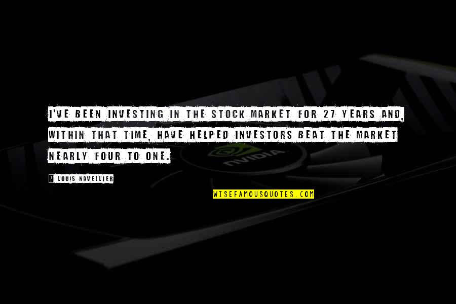 L&t Stock Quotes By Louis Navellier: I've been investing in the stock market for
