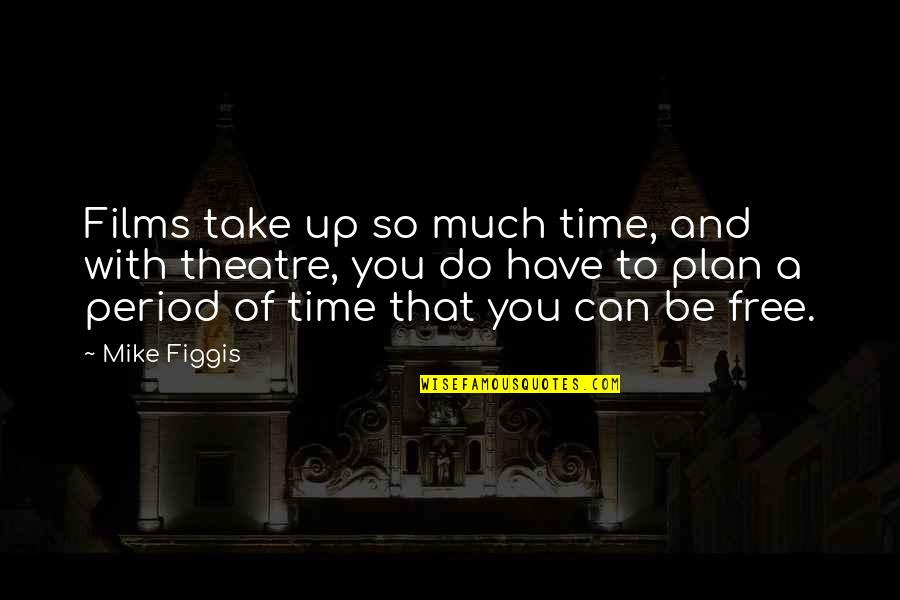 Lakshmi Maa Quotes By Mike Figgis: Films take up so much time, and with
