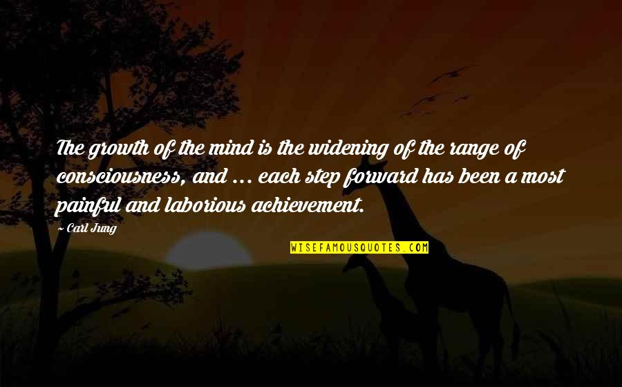 Lampooning Quotes By Carl Jung: The growth of the mind is the widening