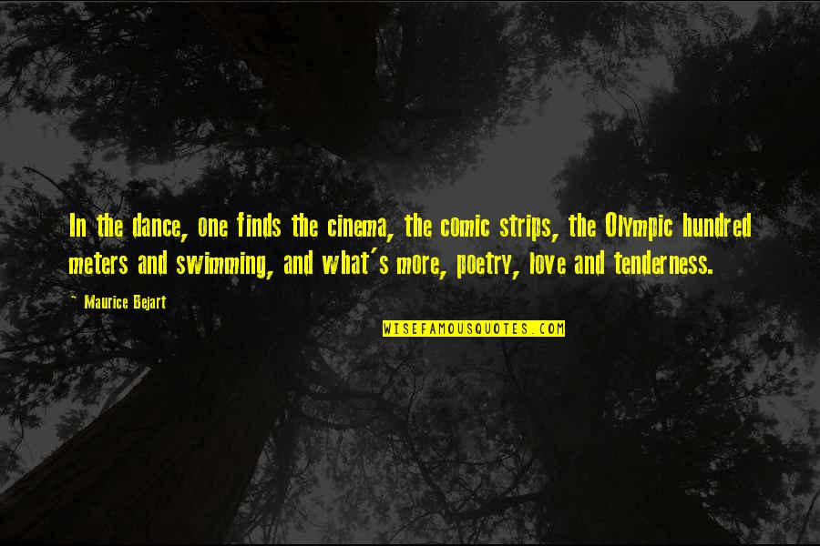 Large Canvas Wall Art Quotes By Maurice Bejart: In the dance, one finds the cinema, the