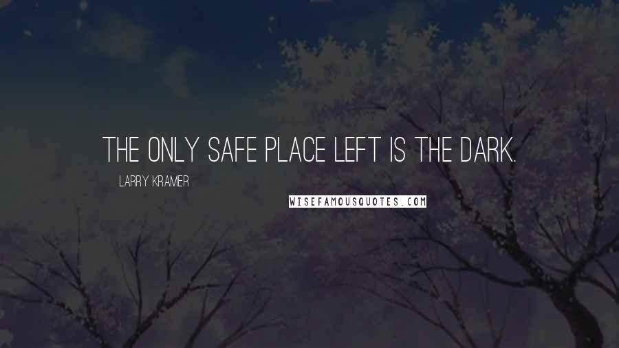 Larry Kramer quotes: The only safe place left is the dark.