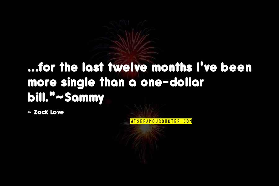 Last Of Us Love Quotes By Zack Love: ...for the last twelve months I've been more