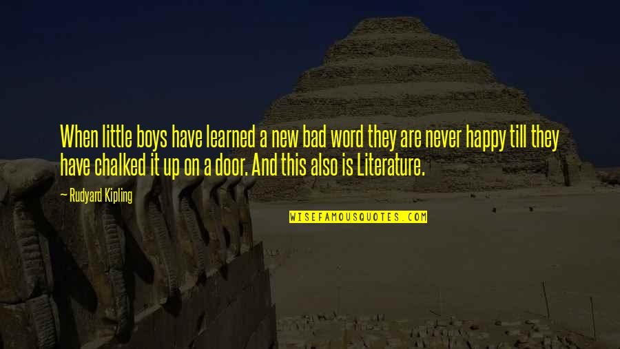 Leanna Renee Hieber Quotes By Rudyard Kipling: When little boys have learned a new bad