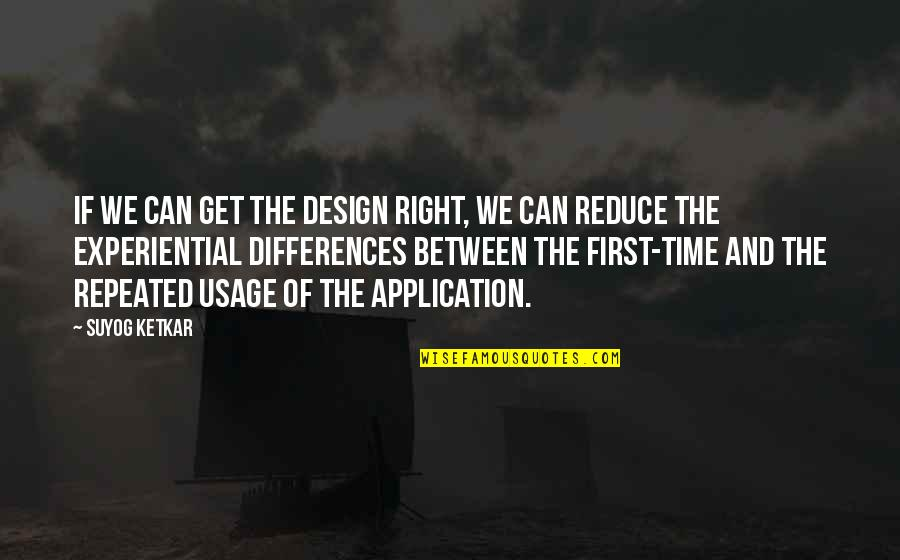 Lee Iacocca Chrysler Quotes By Suyog Ketkar: If we can get the design right, we