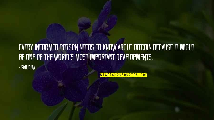 Lenin Bolshevik Quotes By Leon Louw: Every informed person needs to know about Bitcoin