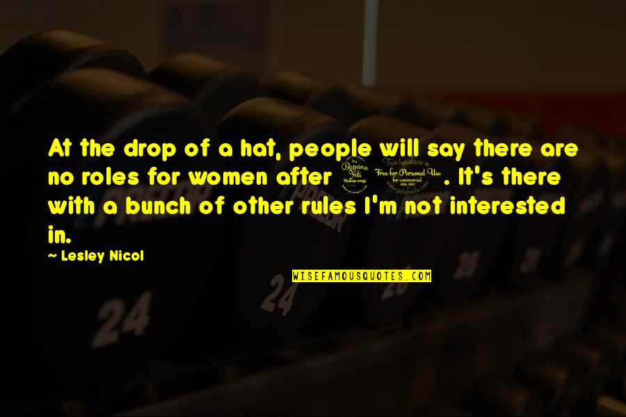 Libarians Quotes By Lesley Nicol: At the drop of a hat, people will