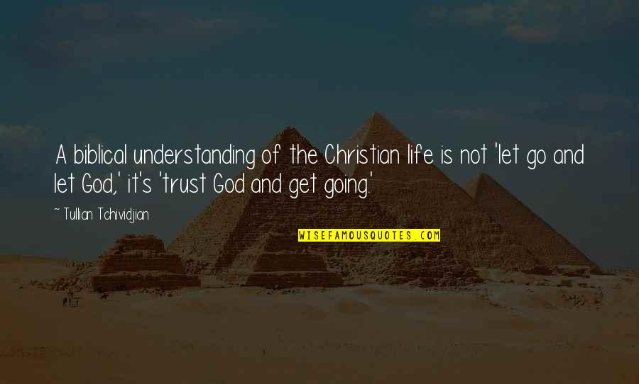 Life Biblical Quotes By Tullian Tchividjian: A biblical understanding of the Christian life is