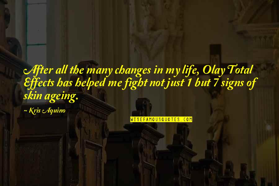 Life Changes Quotes By Kris Aquino: After all the many changes in my life,