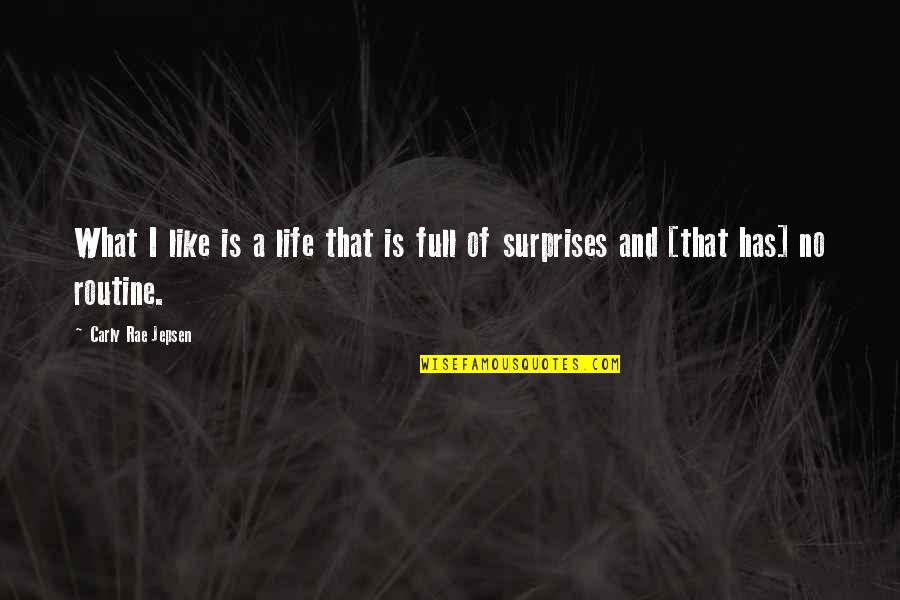 Life Is Full Of Surprises Quotes Top 28 Famous Quotes About Life Is