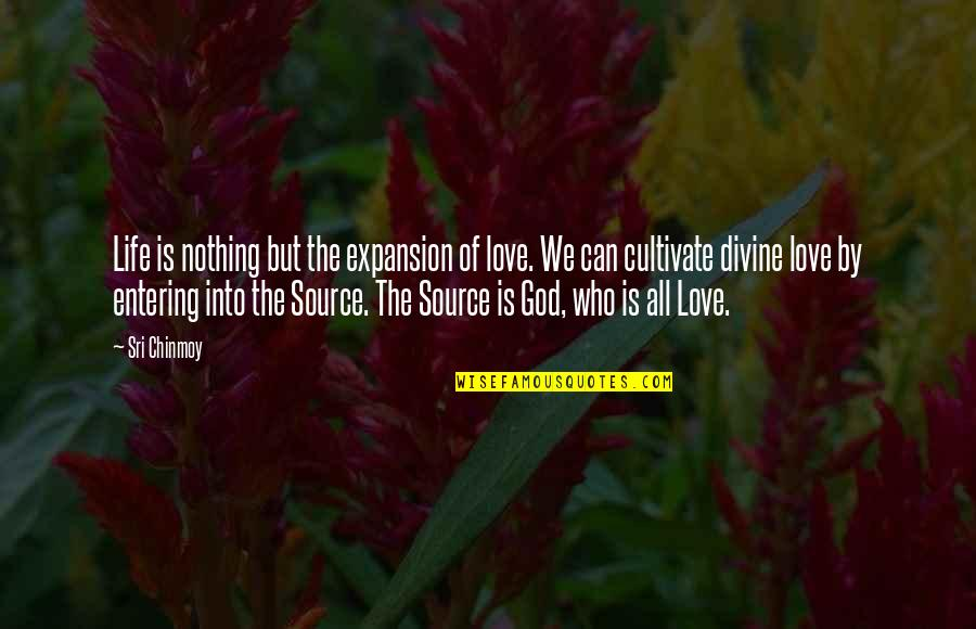 Life Is Nothing Without Love Quotes By Sri Chinmoy: Life is nothing but the expansion of love.