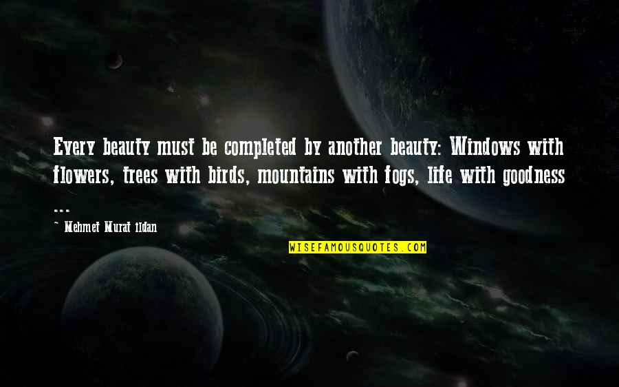 Life Mountains Quotes By Mehmet Murat Ildan: Every beauty must be completed by another beauty: