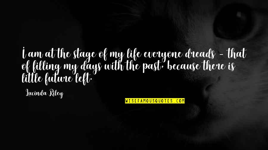 Life Stage Quotes By Lucinda Riley: I am at the stage of my life