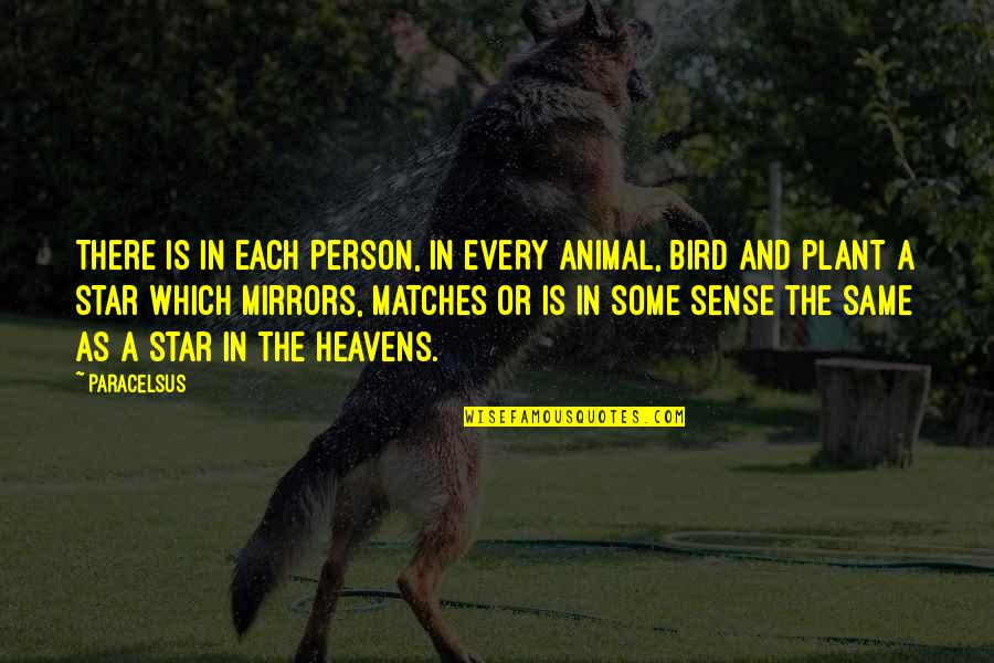 Lil Bro Love Quotes By Paracelsus: There is in each person, in every animal,