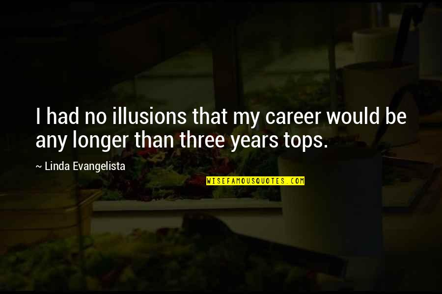 Linda Evangelista Quotes By Linda Evangelista: I had no illusions that my career would