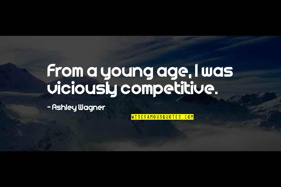 Live Usd Inr Quotes By Ashley Wagner: From a young age, I was viciously competitive.