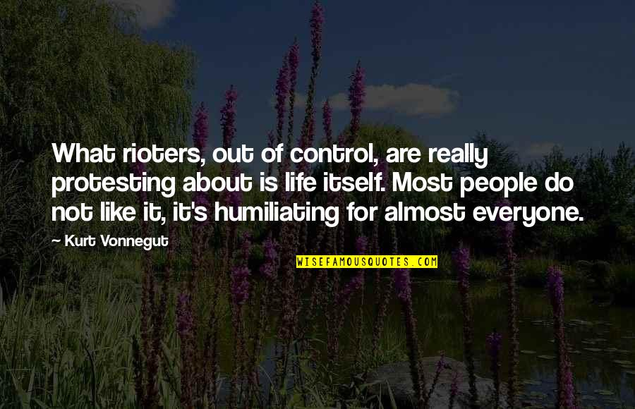 Live Usd Inr Quotes By Kurt Vonnegut: What rioters, out of control, are really protesting