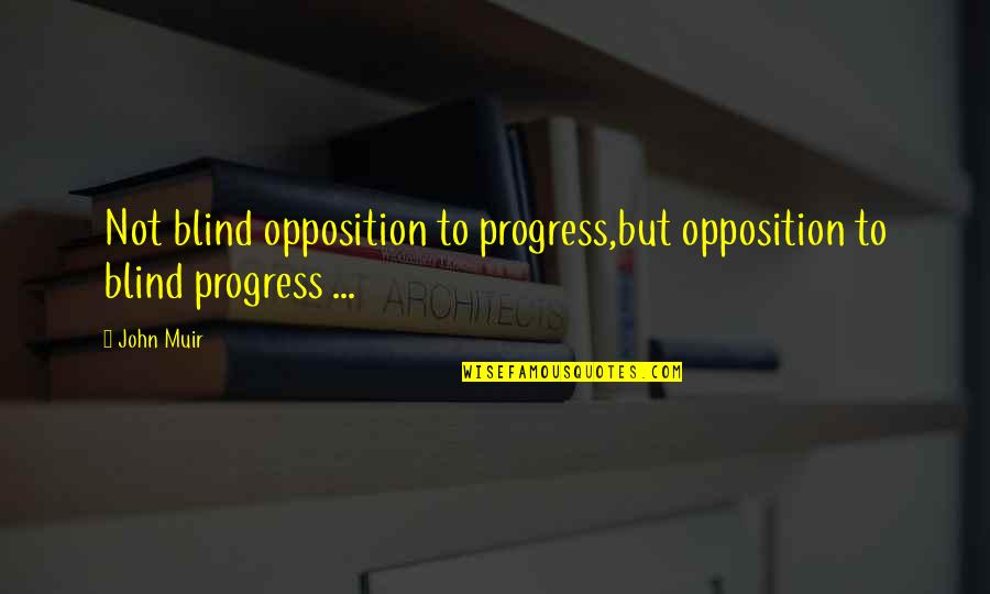 Liverpool Fc Brendan Rodgers Quotes By John Muir: Not blind opposition to progress,but opposition to blind