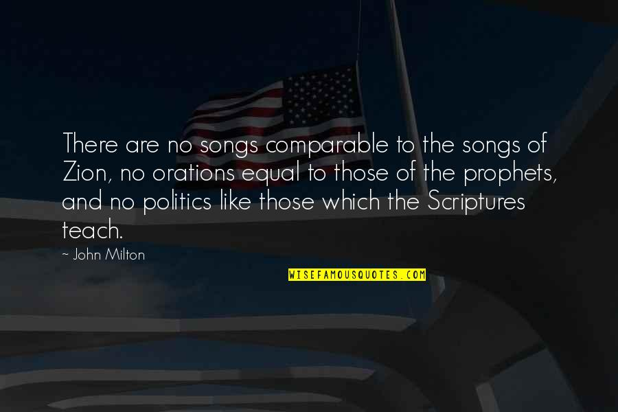 Lolo Birthday Quotes By John Milton: There are no songs comparable to the songs