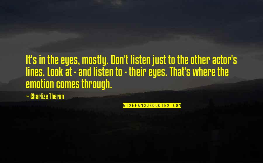 Look Through My Eyes Quotes Top 48 Famous Quotes About Look Through