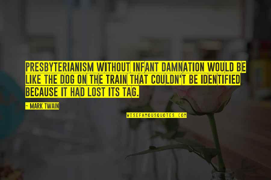Lost My Dog Quotes By Mark Twain: Presbyterianism without infant damnation would be like the