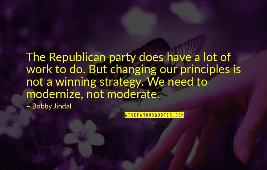 Lostgirl Quotes By Bobby Jindal: The Republican party does have a lot of