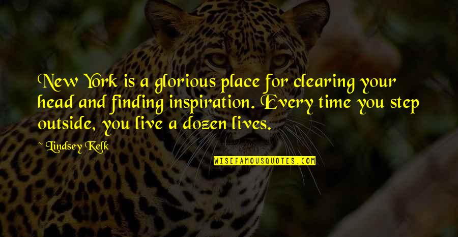 Love Friendship And Life Quotes By Lindsey Kelk: New York is a glorious place for clearing