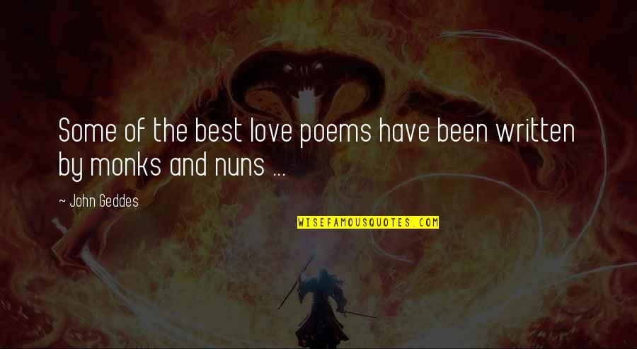 Love Poems Love Quotes By John Geddes: Some of the best love poems have been