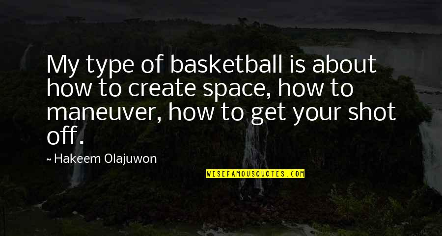Loving 2 People At The Same Time Quotes By Hakeem Olajuwon: My type of basketball is about how to