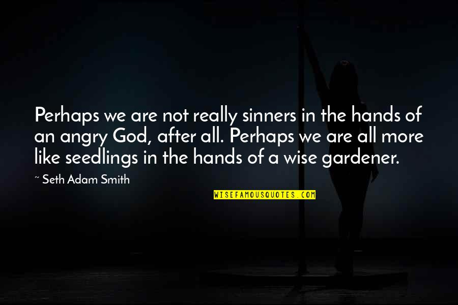 Loving God More Quotes By Seth Adam Smith: Perhaps we are not really sinners in the