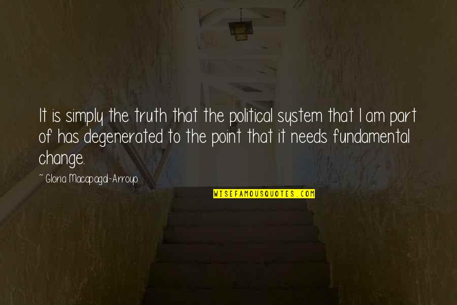 Loving Passionately Quotes By Gloria Macapagal-Arroyo: It is simply the truth that the political