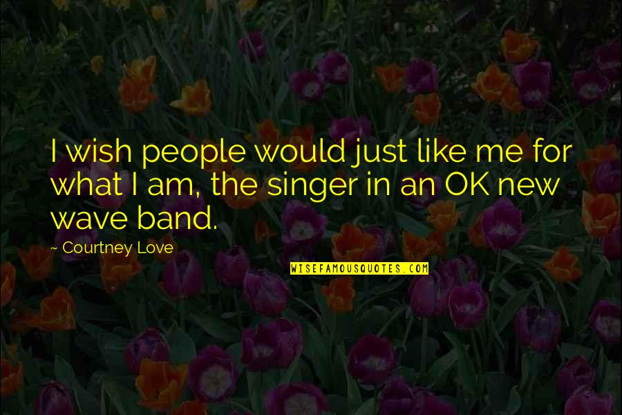 Loving Your Hometown Quotes By Courtney Love: I wish people would just like me for