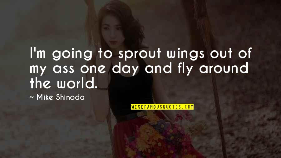 M Shinoda Quotes By Mike Shinoda: I'm going to sprout wings out of my