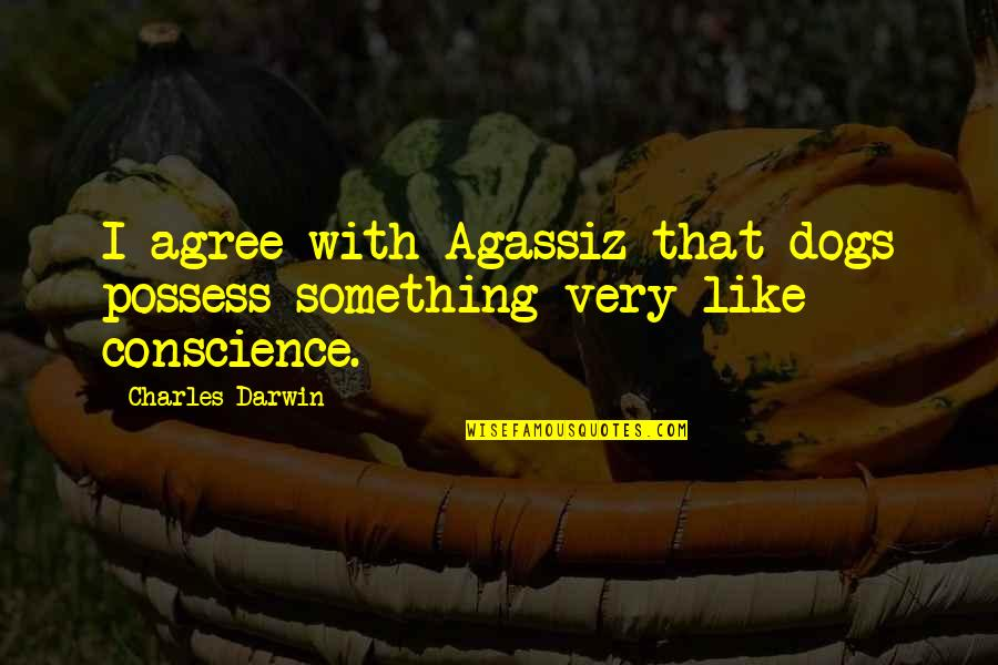 Macbeth Banquo Foil Quotes By Charles Darwin: I agree with Agassiz that dogs possess something