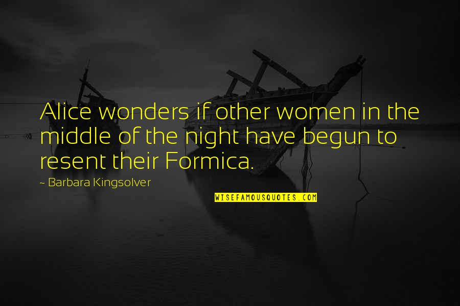 Madras Cafe Last Quotes By Barbara Kingsolver: Alice wonders if other women in the middle