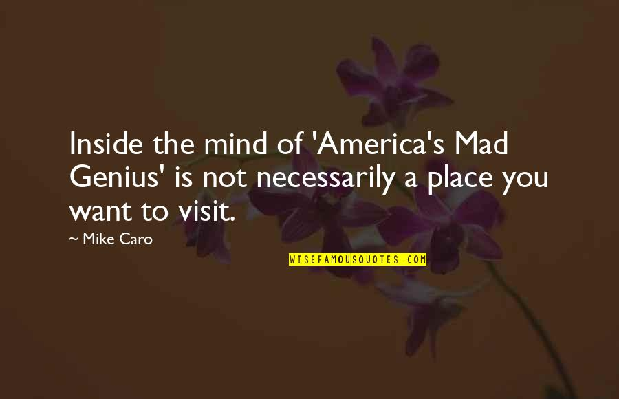 Mad's Quotes By Mike Caro: Inside the mind of 'America's Mad Genius' is