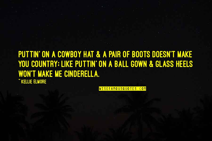 Make Like Quotes By Kellie Elmore: Puttin' on a cowboy hat & a pair