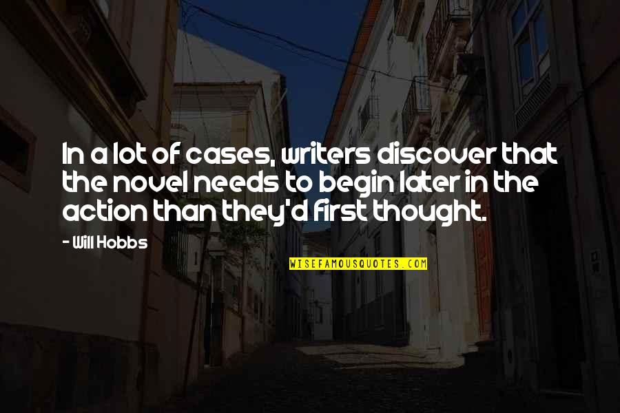 Marquesan Quotes By Will Hobbs: In a lot of cases, writers discover that