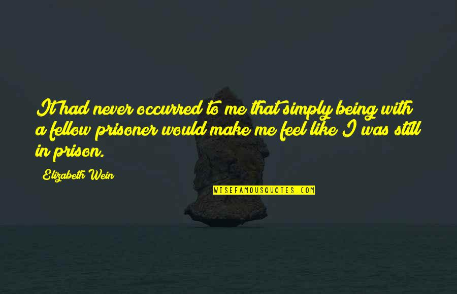 Mechthild Magdeburg Quotes By Elizabeth Wein: It had never occurred to me that simply