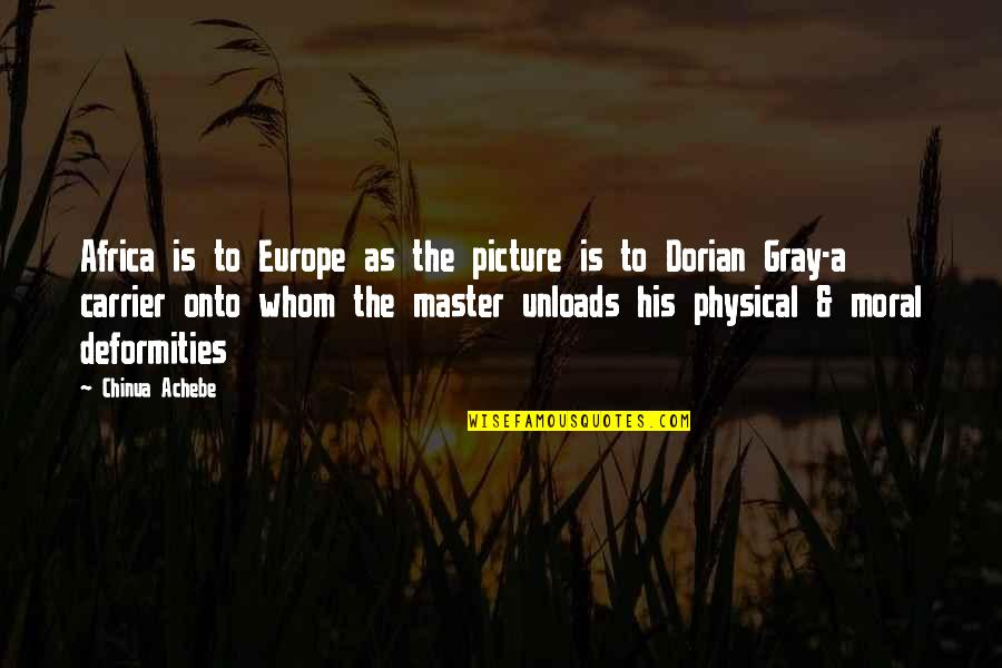 Meeting New Boyfriend Quotes By Chinua Achebe: Africa is to Europe as the picture is