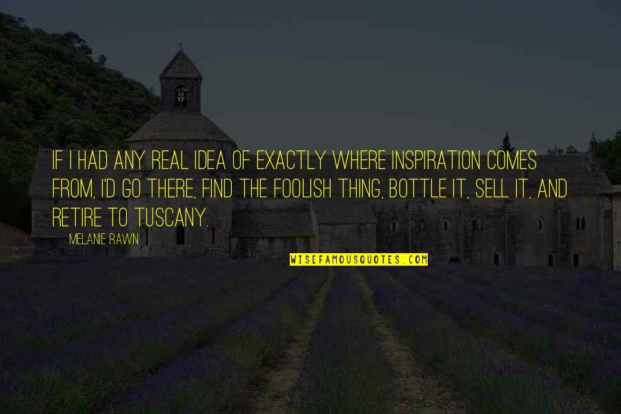Melanie Rawn Quotes By Melanie Rawn: If I had any real idea of exactly