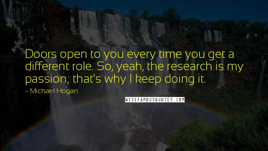 Michael Hogan Quotes Wise Famous Quotes Sayings And Quotations By Enchanting Quotes About Doors
