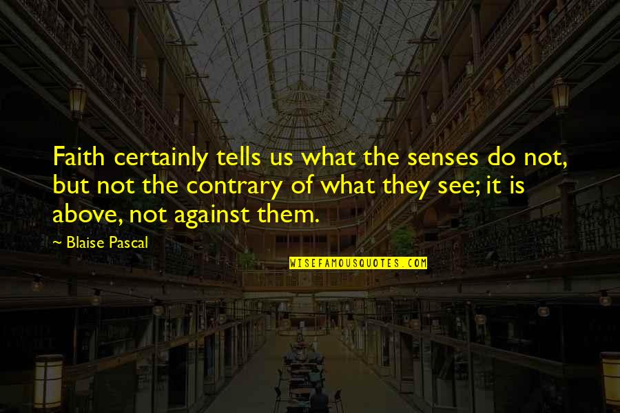 Microsoft Word Disable Smart Quotes By Blaise Pascal: Faith certainly tells us what the senses do
