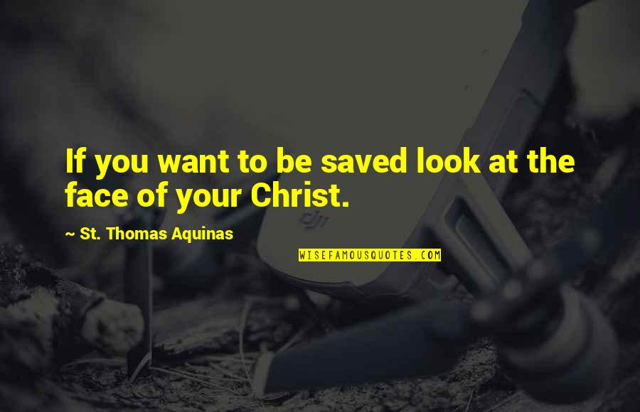 Mockingjay Part 1 Snow Quotes By St. Thomas Aquinas: If you want to be saved look at