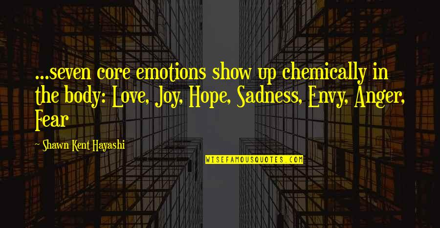 Money Ben Franklin Quotes By Shawn Kent Hayashi: ...seven core emotions show up chemically in the