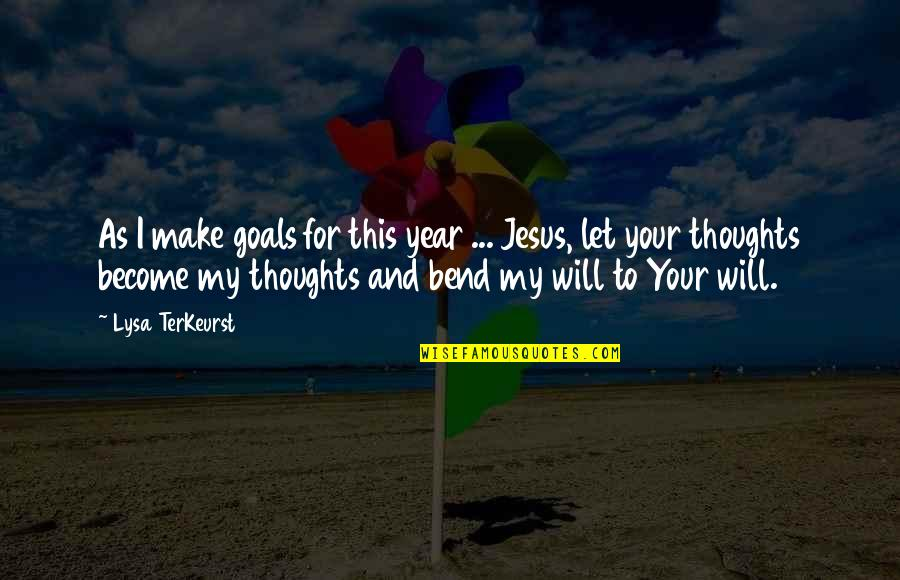 Money Is Not All That Matters In Life Quotes By Lysa TerKeurst: As I make goals for this year ...