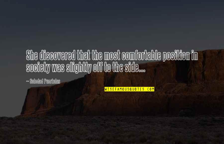 Mongodb Regex Quotes By Soledad Puertolas: She discovered that the most comfortable position in