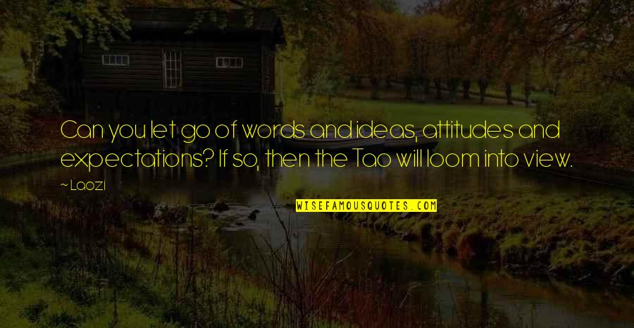 Monsieur Hire Quotes By Laozi: Can you let go of words and ideas,