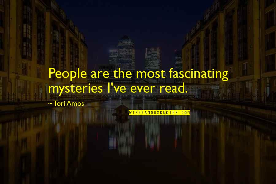 Mooie Spaanse Quotes By Tori Amos: People are the most fascinating mysteries I've ever