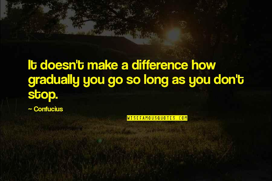 More Than Friends Picture Quotes By Confucius: It doesn't make a difference how gradually you