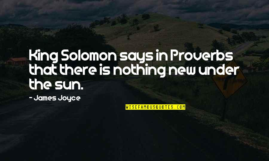 Morningstar Canada Stock Quotes By James Joyce: King Solomon says in Proverbs that there is